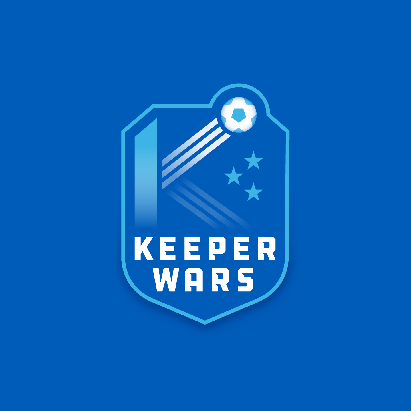 Keeper Wars Soccer Tournament Charity logo design by Hunter Oden of oden.house