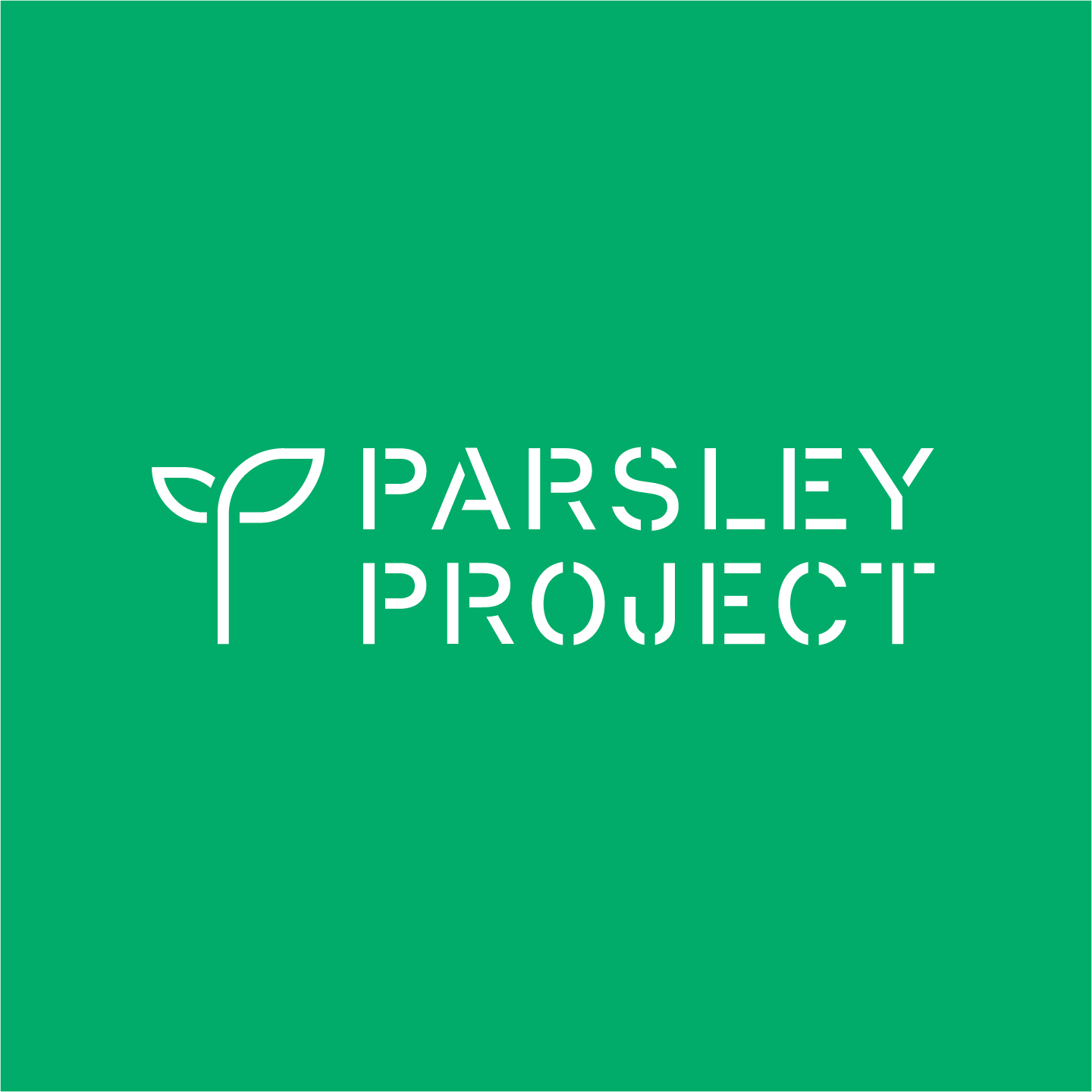 Parsley Project logo by Hunter Oden of oden.house