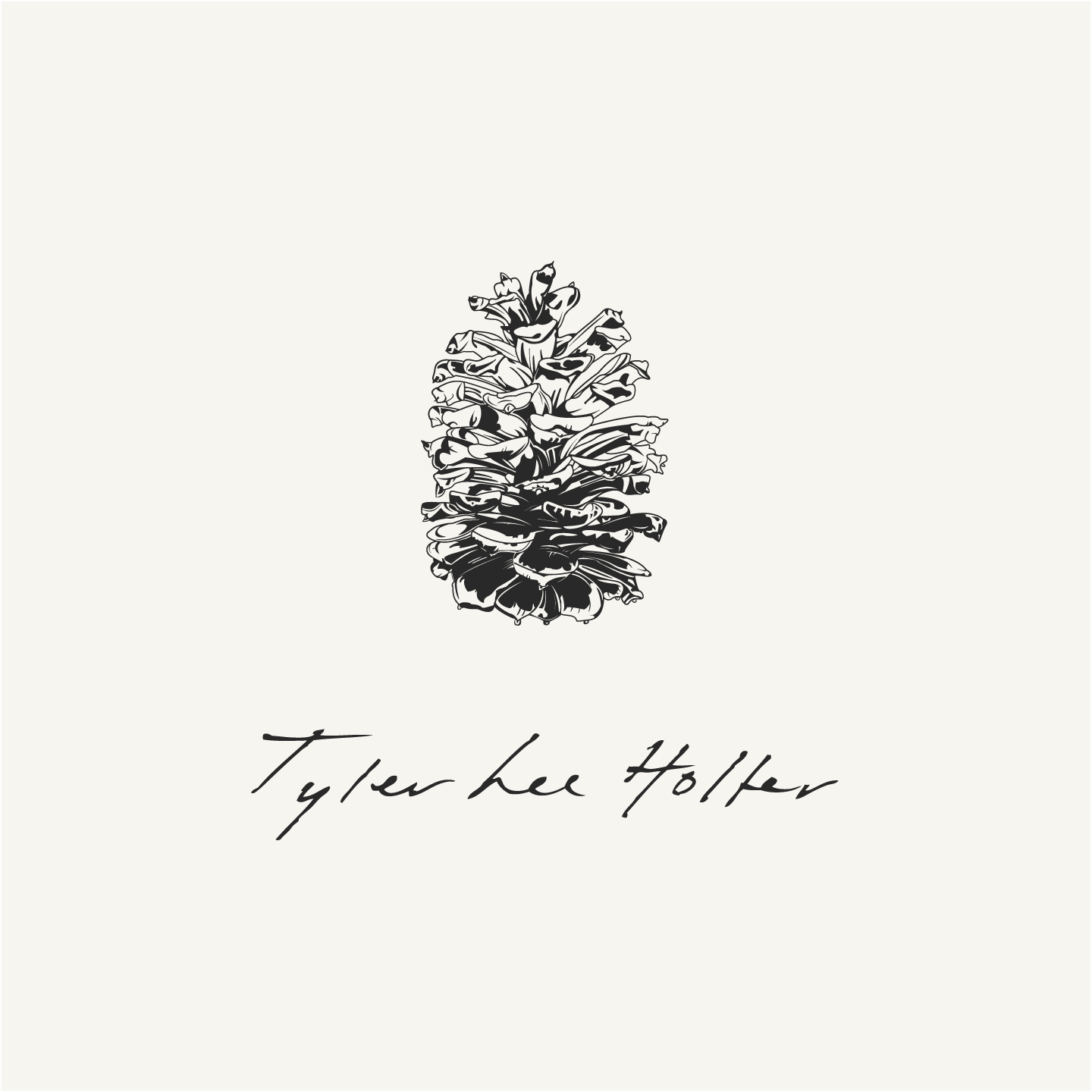 Tyler Lee Holter logo design by Hunter Oden of oden.house